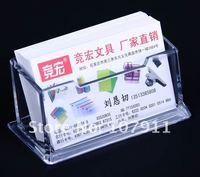 10 шт./лот прозрачная пластиковая стенды мамэ карты чехол подарок