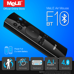 MeLE F10 BT Wireless Keyboard Fly Air Mouse Remote Control Bluetooth 4.0 IR Learning for Android TV Box Windows Mini PC
