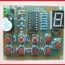 Free Shipping!!! 5pcs 8 Responder / CD4511 electronic kit / DIY electro