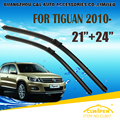 "Escovas Para VW VOLKSWAGEN TIGUAN (2007-) 08 09 10 11 12 13 Car Windscreen Windshield Wiper Wiper Blade 21 ""+ 24"" carros estilo"