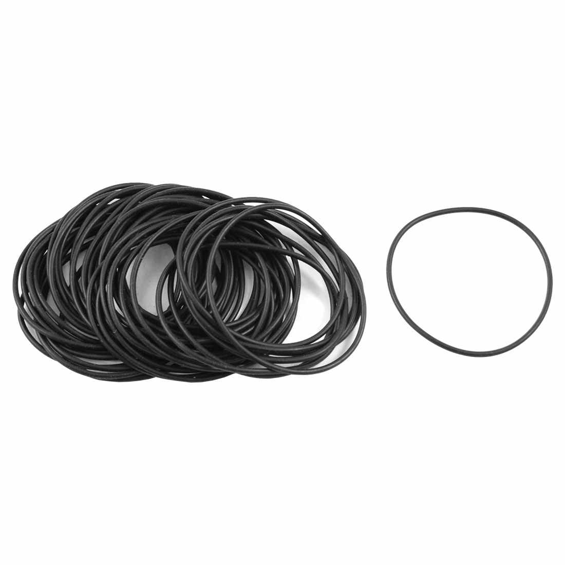 Uxcell 50Pcs/lot  1.5Mm Black Nitrile Rubber O Rings Oil Sealing Gaskets Id  42 | 47mm | 53mm | 85mm Hot Sale