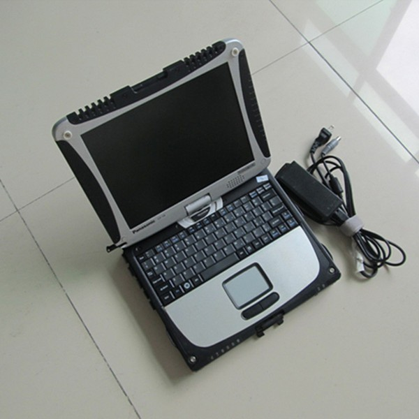 Car Diagnostic Laptop For panasonic CF-19 used military computer best price with battery without hdd