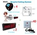 Sem fio Sistema de Chamada de Enfermeira para a Clínica Do Hospital Sinal Forte Made in China Com Receptor de Exibição Botão Sino Relógio