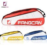 1 pc FANGCAN FC1201 Tennis Racket and Squash Racquet Bag Single Compartment 3pcs Capacity Sports Gym Bag 36 55L