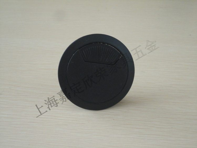 7*7mm Metal Round Grommet Wire Cable Hole Cover for Computer Desk Line Box