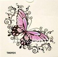 доставка бесплатная baba розовый цветок прекрасный ну вода, весло bremen наклейки татуировки татуировки 10 шт./лот