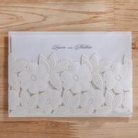 50pcs Pack Free Shipping Casamento Personalized Classic Wedding Invitation Birthday Party Invited Convite Event Party Supplies
