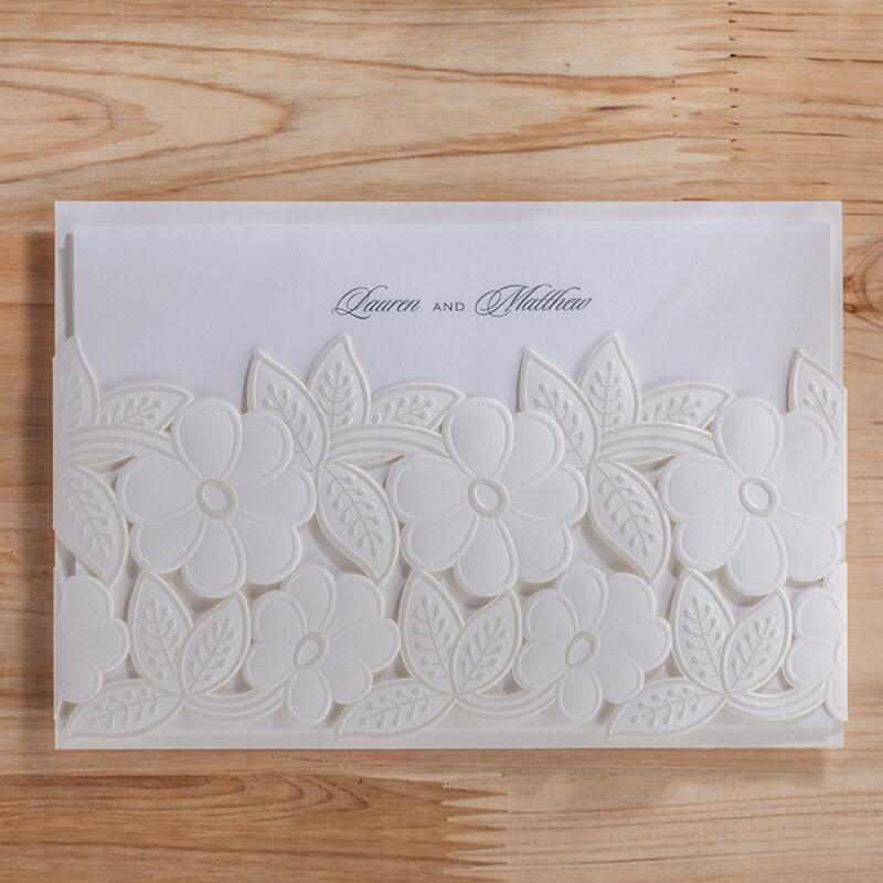 ФОТО 50pcs/pack Free Shipping Casamento Personalized Classic Wedding Invitation Birthday Party Invited Convite Event & Party Supplies