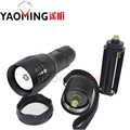 100% Authentic G700 CREE XM-L T6 3800LM tactical cree led flashlight zoomable torch lamp light rechargeable lantern by 18650
