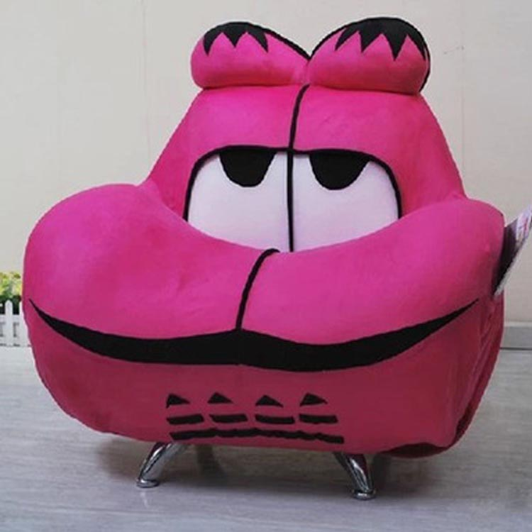 cartoon sofa chair. SOLO French Style Couch Garfield Lazy Sofa Cute Children Countryside Computer Chair Creative Cartoon Kid Comfortable Sofa-in Living Room Sofas From