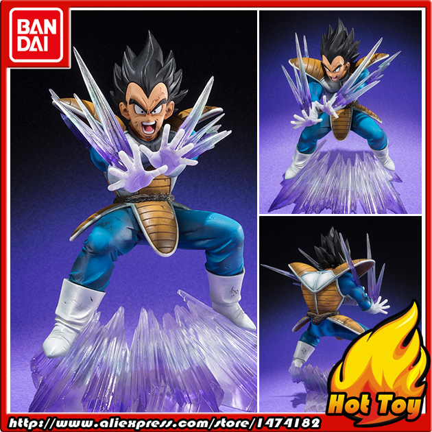 100% Original BANDAI Tamashii Nations Figuarts ZERO Action Figure - Vegeta Galick Gun Ver. from