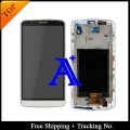 Free Shipping + Tracking No. + Tools 100% tested  For LG Optimus G3 D855 D850 LCD Assembly  Frame - White/Black/Gold