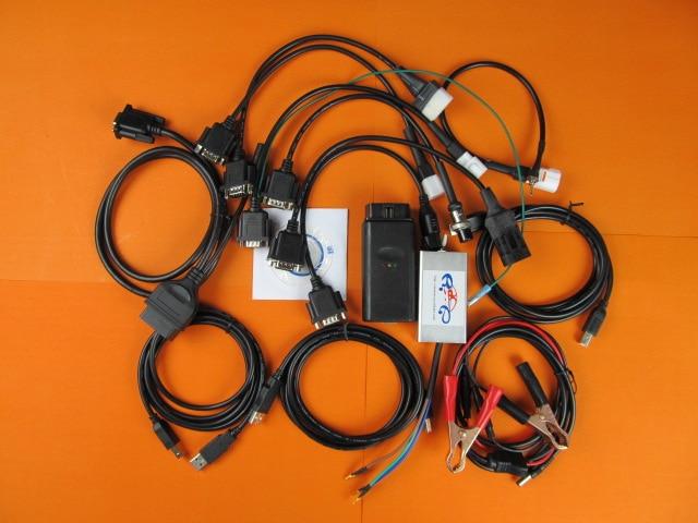 Цена за Ремонт мотоциклов Диагностический Инструмент для SYM, KYMCO, для у. amaha для honda raceauto 7 в 1 мультибрендовый мотоцикл сканер