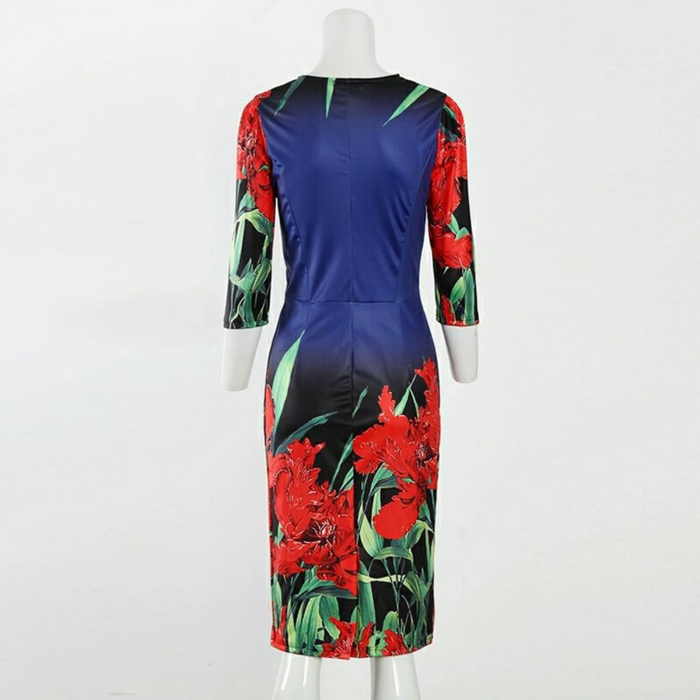 Яркое платье для встречи Нового года и не только размер #Plus