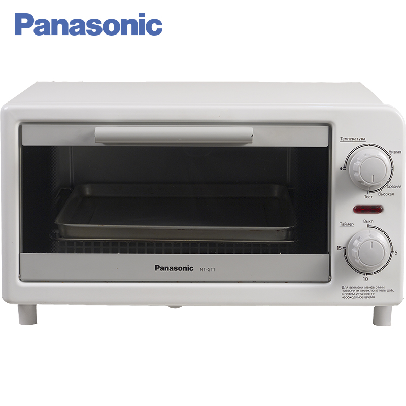 Panasonic NT-GT1WTQ Mini oven toaster, Household Baking Electric Cake Toaster Kitchen Appliances Multifunctional  for Baking.