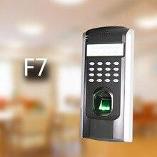 Арабском языке F7 биометрический контроль доступа Дверные замки доступа прочная высокоточных ZK оптический датчик