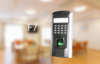 Arabic language F7 Biometric Controller Door Lock Access durable highly accurate ZK optical sensor