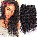 Brazilian Virgin Hair 4Bundles Brazilian Water Waver Wet and Wavy Human Hair Weave Gem Beauty Brazilian Natural Wave Virgin Hair