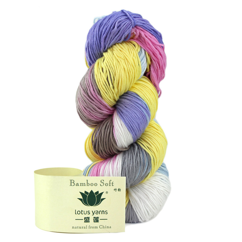 tejer a mano hilo de bambú 100% justo a tiempo para la primavera y - Artes, artesanía y costura