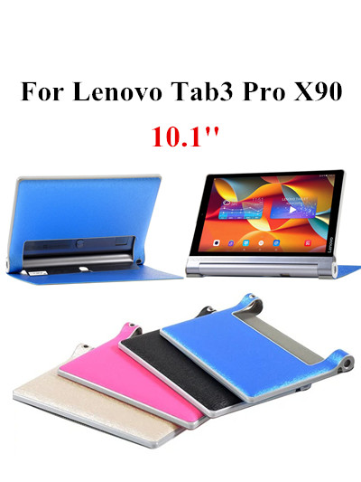 original YOGA TAB3 PRO Protective PU Leather Case for Lenovo tab 3 pro X90 YT3-X90F YT3-X90L YT3-X90M X90F X90L X90M stand cover ultra slim soft silicon case for 10 1 inch lenovo yoga tab 3 pro 10 x90m x90l case for lenovo yoga tab 3 plus yt x703f