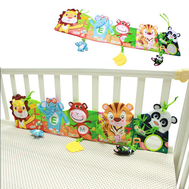 Awesome Baby Bed Bumper Carton Baby Bedding Set 0 24 Month Soft Fun Colorful Crib Bumper Amazing - Simple baby bedroom set Review