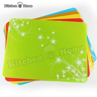 1Pcs 46X32cm Fashion Modern Silicone Dining Table Placemat Heat Resistant Tableware Pad Non Slip Coaster