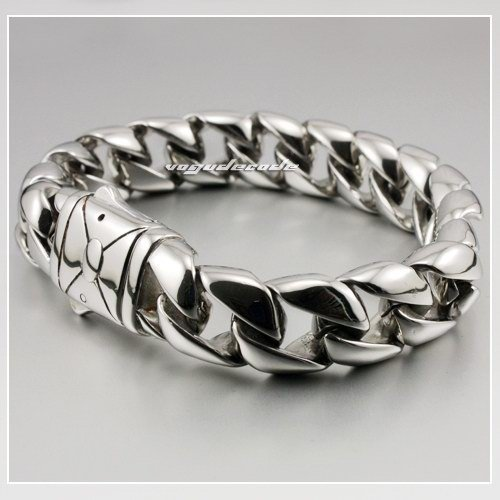 Sample Order 8 5 Cool 316l Stainless Steel Mens Bracelet 5c008 Length Customizable