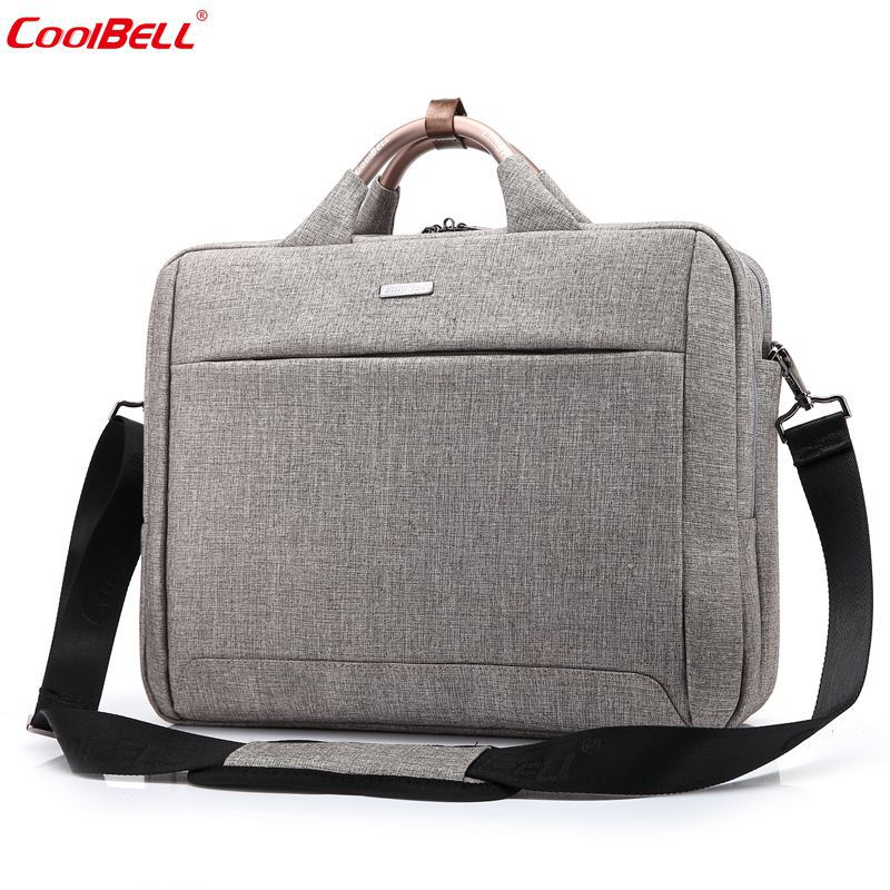 5c4186a07df2 Coolbell водонепроницаемый 15.6 дюймов модные сумки ноутбука Портфели сумка  Для мужчин Для женщин ноутбука Тетрадь сумка для ноутбука