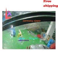 Чт-ВБ-24 0.8 мм пвх цвет transprent встает надувные аквапарк игры с игрушки