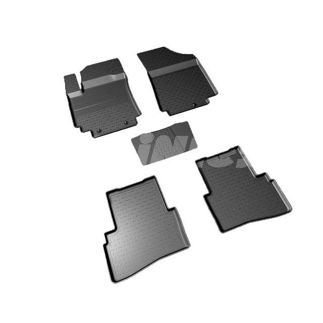 Для Hyundai Creta 2016-2019 резиновые коврики с высокими бортиками Seintex 87517