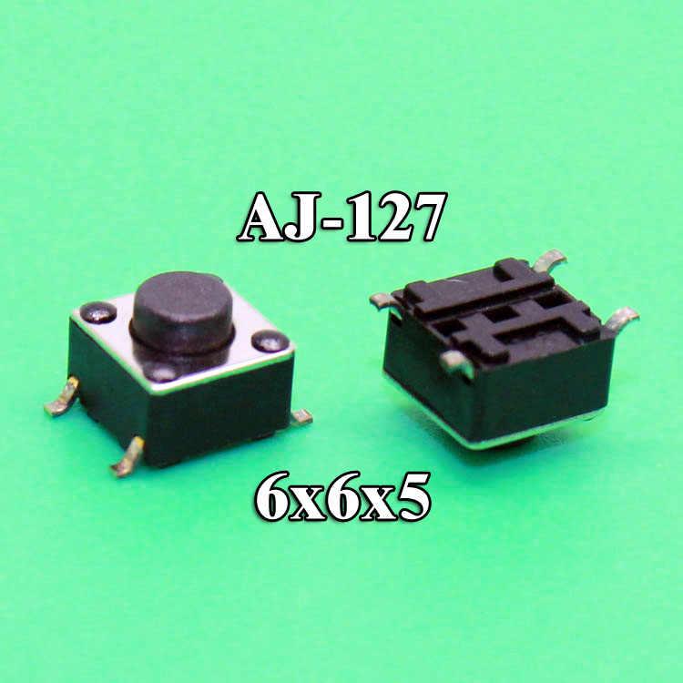 1 interruptor de botón de alta calidad 6*6*5 Interruptor táctil tacto 6x6x5 SMD SMT
