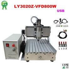 800 W USB port 3020 cnc routeur cnc graveur cnc machine de gravure 110/220 V