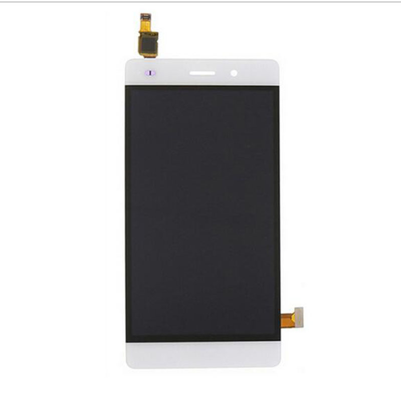 New White Touch Screen Digitizer Glass Sensor+LCD Display Panel Screen For Huawei Ascend P8 Lite 5.0 Assembly Replacements 5lcd replacement for huawei ascend p7 lcd display with frame touch panel screen digitizer glass assembly black white tool