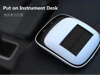Original Car Styling Solor Energy Perfumes Air Freshener Cleaner Steam Humidifier Air Purifier Aroma Diffuser Aromatherapy