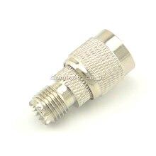 10 шт. мини UHF-TNC адаптер TNC штекер к UHF гнезду прямой разъем