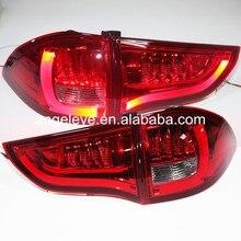 2009-2013 год для Mitsubishi, для Pajero Sport Montero Sport Nativa Pajero Dakar, светодиодный задний фонарь, красный, белый, YZ