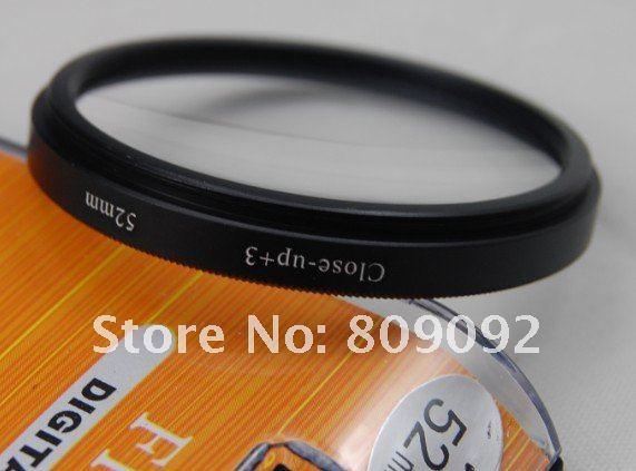 GODOX 52 мм+ 3 Макро фильтр для объектива для цифровой камеры