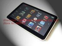 5 дюймов высокой четкости сенсорный экран GPS и навигация системы мтк с оперативной памятью 128 а . в . МР4 электронная ФМ-игр