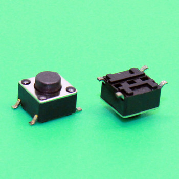 1x High quality Push Button Switch 6*6*5 Tact Switch Tactile switch 6x6x5 SMD SMT image