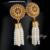 Mytys Diseño Étnico Con Cuentas de Perlas Gota Cuelga Los Pendientes de La Borla de La Moda Pendientes de Perlas CE153 CE152