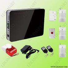 Голосовые Подсказки Беспроводной GSM Сигнализации Системы Домашней Безопасности Сигнализация с Тревожной Кнопки