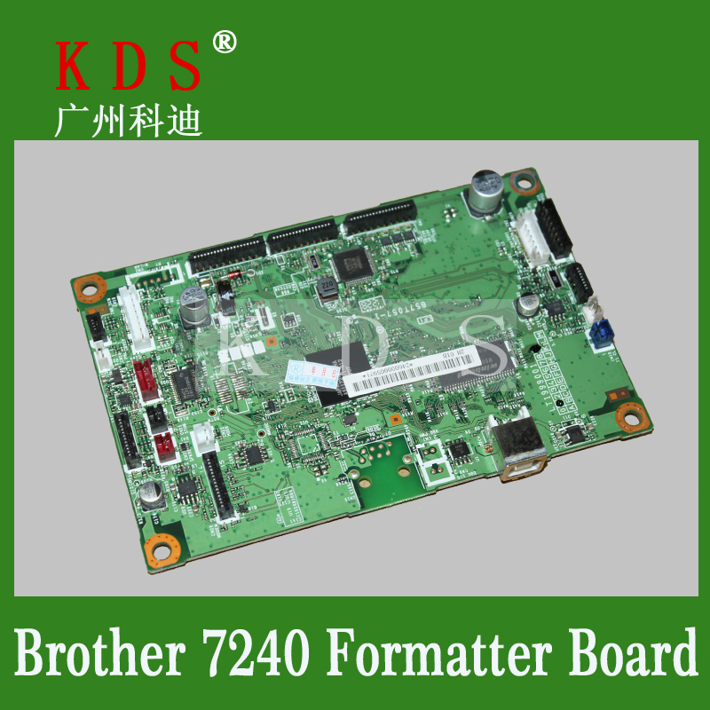 Laserjet Printer Formatter Board For Brother 7240 Motherboard Used Pre-tested Logic Board free shipping for acer tmp453m nbv6z11001 ba50 rev2 0 motherboard hm77 tested