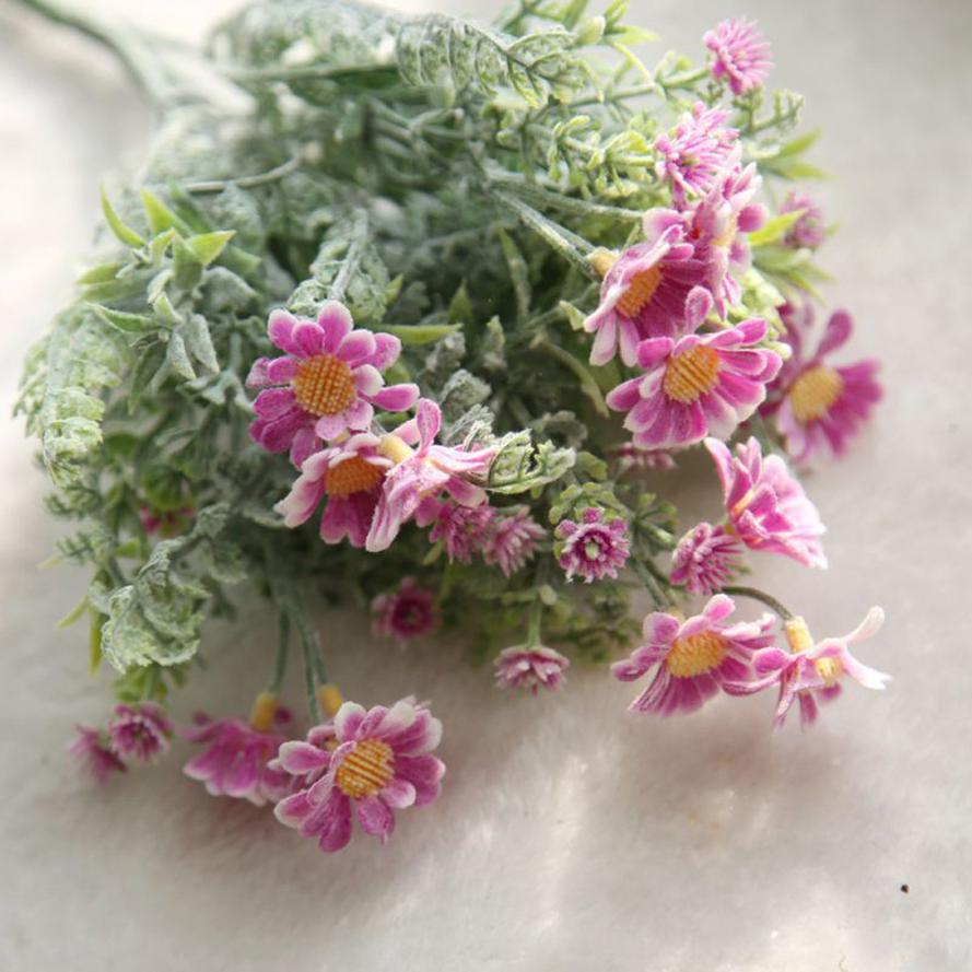 Artificial Flowers For Decoration Wedding Home Cheap Fake Plastic