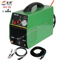 Digital Inverter Weld CUT50 Inverter Air Plasma Cutting Machine Plasma Cutter With Accessories 220V