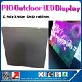 0.96 x 0.96 м p10 открытый водонепроницаемый из светодиодов дисплей стены 35353SMD высокая яркость открытый из светодиодов экран p10