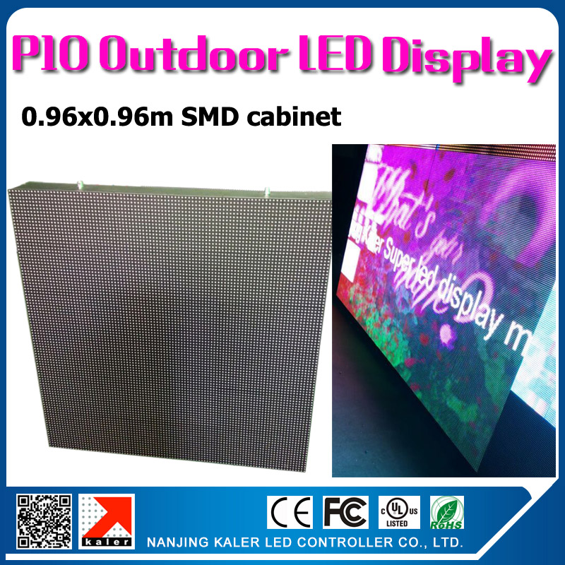 TEEHO 0.96x0.96m p10 outdoor waterproof led display wall 35353SMD high brightness outdoor led screen p10 videowall LED signboardTEEHO 0.96x0.96m p10 outdoor waterproof led display wall 35353SMD high brightness outdoor led screen p10 videowall LED signboard