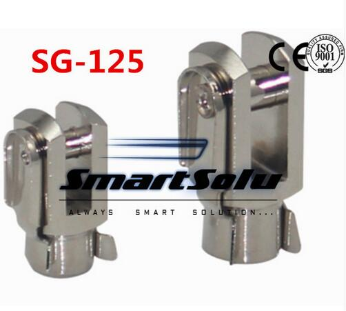 цены Free Shipping 5pcs/lots SG-125 M27X2 ISO6431 cylinder attachment, Y type joint, U joints, Y
