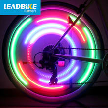LEADBIKE LED Lamp Bicycle Light Bike Accessories Cycling Wheel Spokes Color Eclairage Velo Luz De Bicicleta Bisiklet Aksesuar(China)