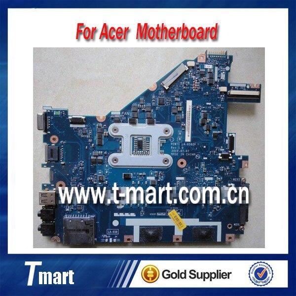 Подробнее о 100% working Laptop Motherboard for ACER 5742 NV55C PEW71 La-6582p MB.R4L02.001 MBR4L02001 System Board fully tested for acer 5742 la 6582p laptop motherboard mbrjw02001 100