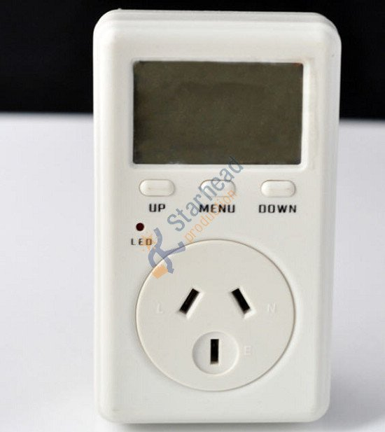Умная розетка Wanf Мини амперметр, Ватт метр, Электричество Мощность энергопотребление монитор переменного напряжения, австралийская версия AU 220 В 50 Гц